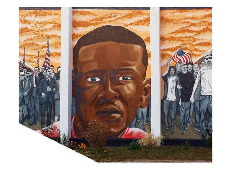 The Death of Freddie Gray: Freddie Gray Mural