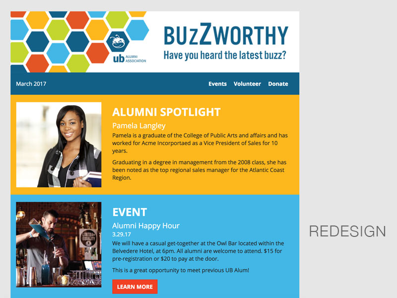 BuzZworthy Newsletter post-redesign